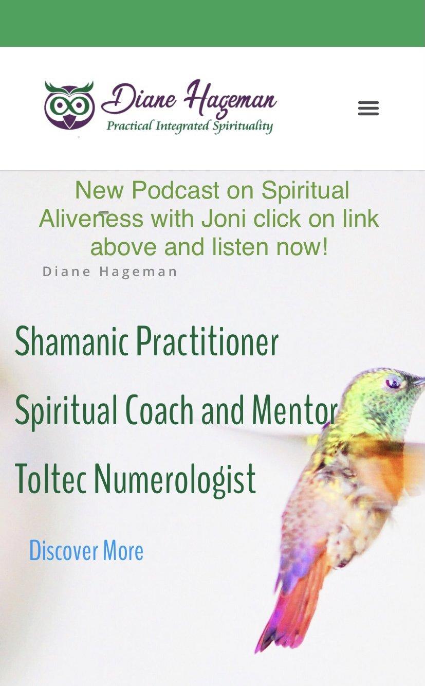 Spiritual Aliveness Podcast--Seeking Freedom and Change in 2021